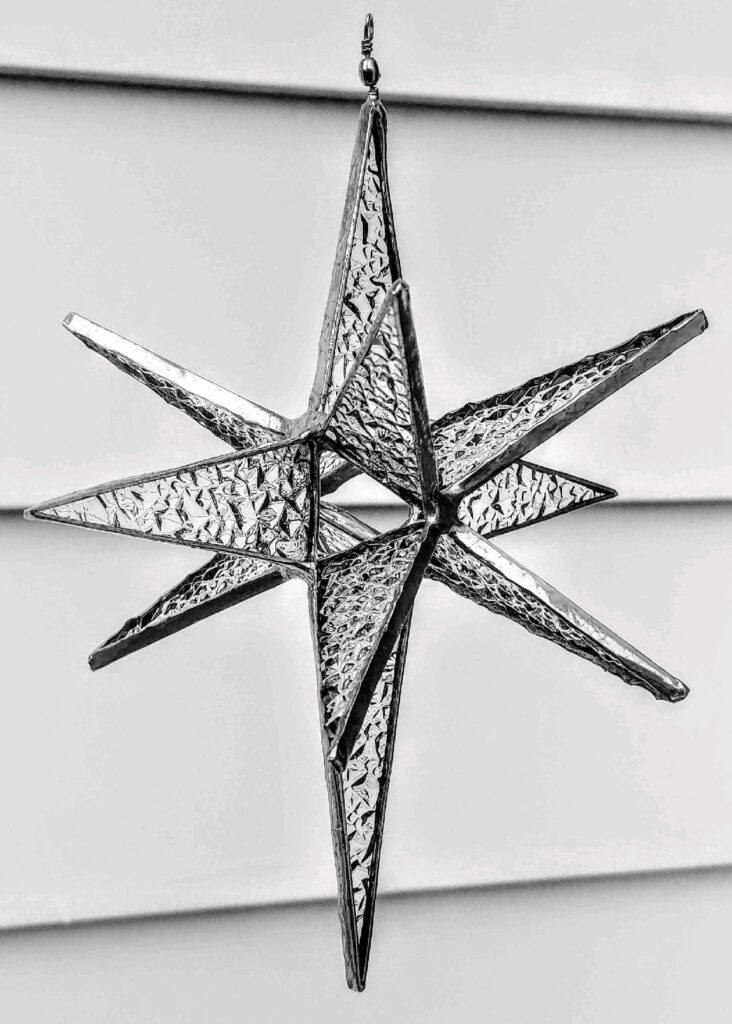 Stained Glass Class Moravian Star 11.15.20